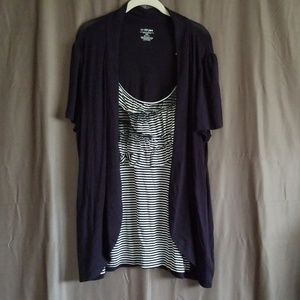 New! Lane Bryant Stripe Shirt